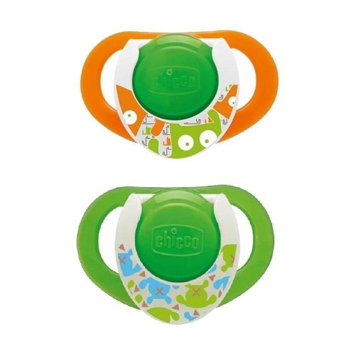 لهاية فيزيو رينج من السيليكون من شيكو – ٢ قطعة - أخضر