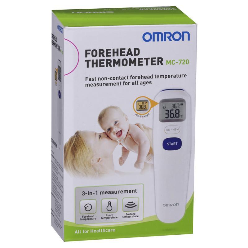 OMRON porhead thermometer