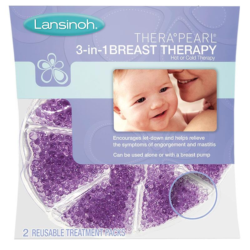 Lansinoh, زيرابيل، 3 فى 1 علاج للثدى