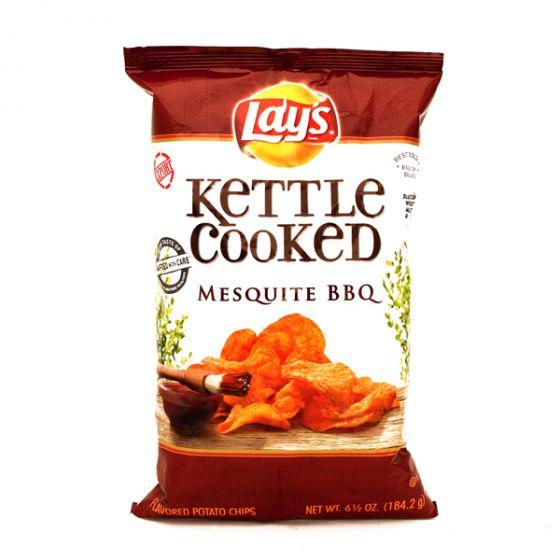 ليز كيتل شبس بطاطس مطبوخة بنكهة الباربكيو 184غ