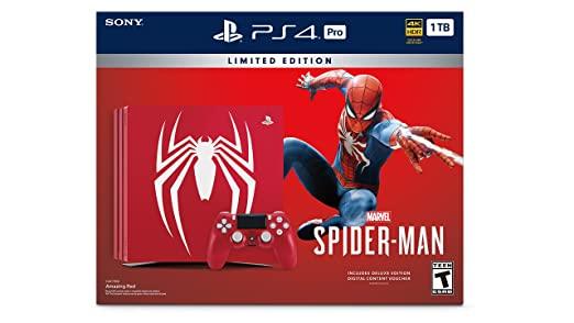 Sony PS4 1TB+Spiderman Ltd.Edt