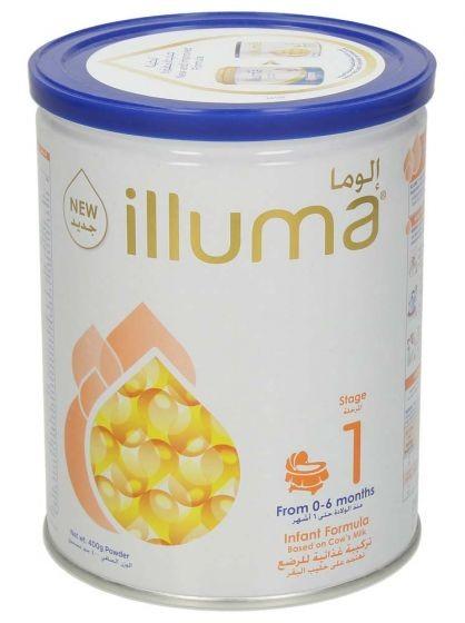 الوما 1 فورميلا حليب من 0-6 اشهر 400 غ
