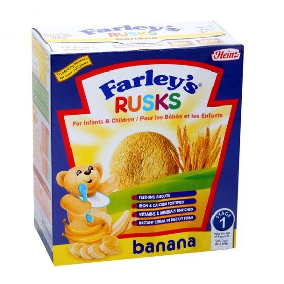 هاينز فارليز بطعم الموز روسك بسكويت 300 غ