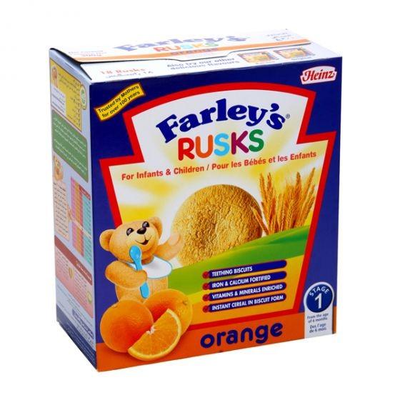 هاينز فارليز برتقال روسك بسكويت 300 جم