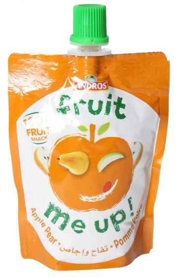 اندروس الفواكه بطعم الالتفاح و الخوخ  90غ