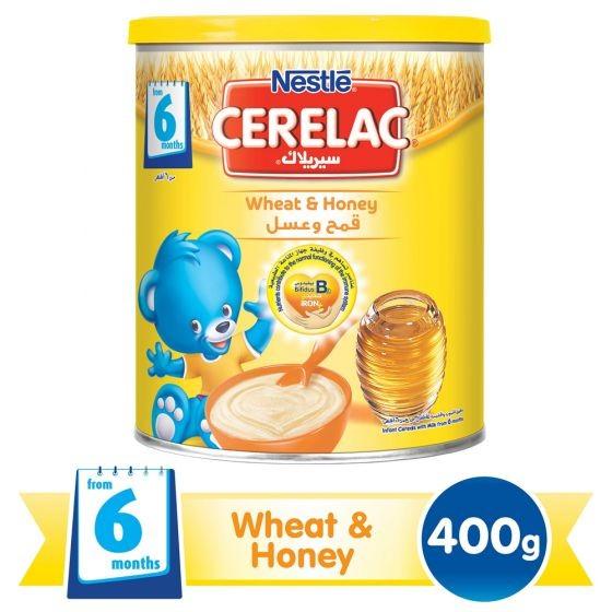 سيريلاك القمح والعسل 400 جرام
