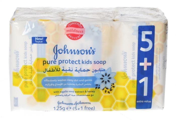 جونسن صابون حمايه نقيه للاطفال 800 غ