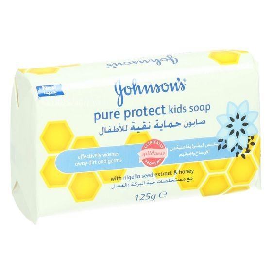 جونسن صابون حمايه نقيه للاطفال 125 غ