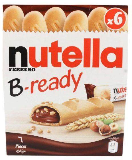 NUTELLA B-READY WAFER 132g