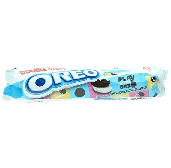 OREO DOUBLE STUFFCHOCOLATE SANDWICH BISCUITS 157G
