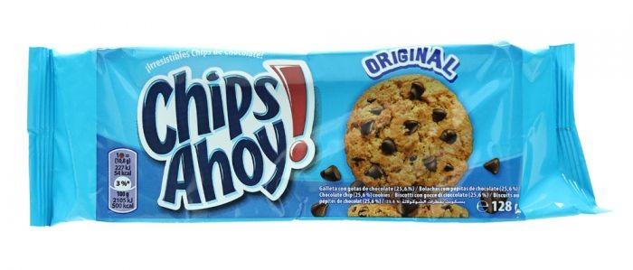 NABISCO CHIPS AHOY ORIGINAL CHOCOLATE CHIP COOKIES 128G