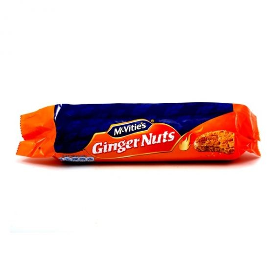 MCVITIES GINGER NUTS BISCUITS 250G