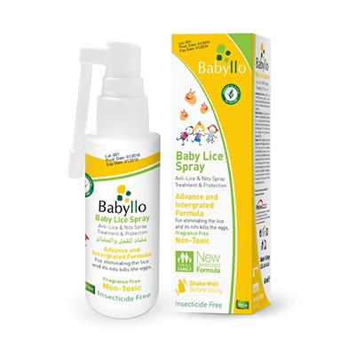 babyllo baby lice spray
