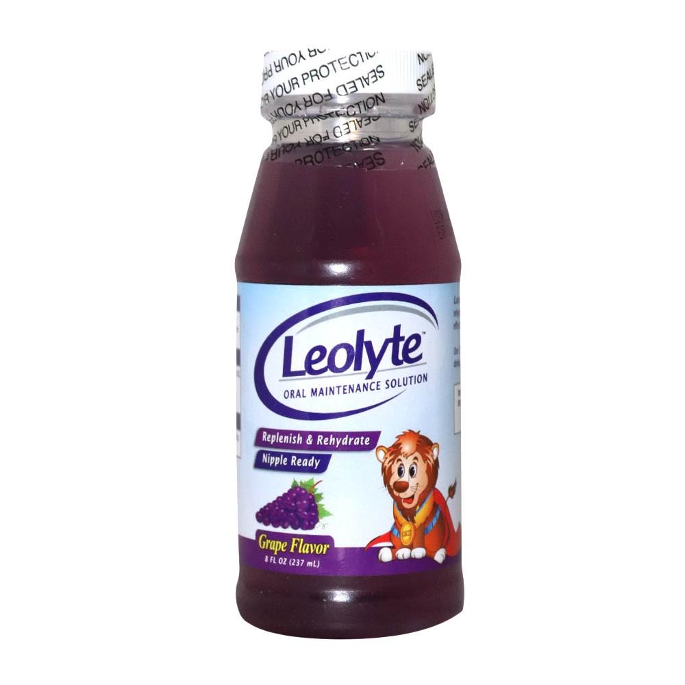 leolyte grape flavor 237ml