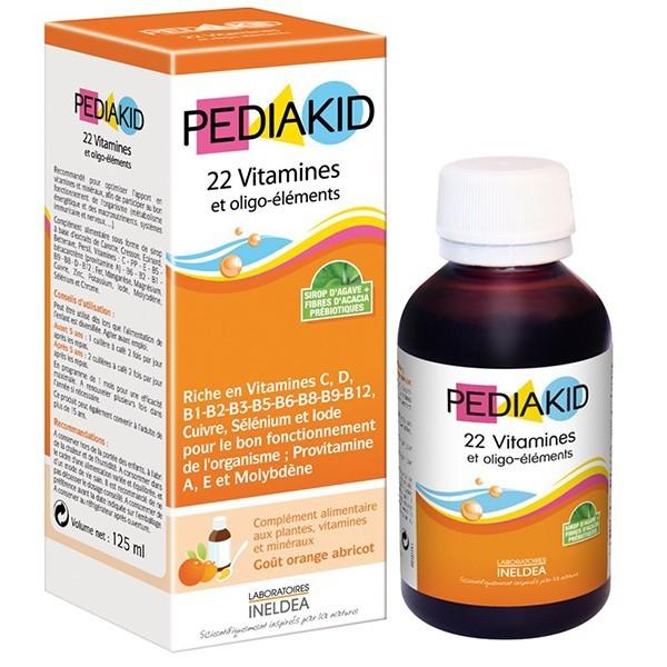 PEDIAKID 22 Vitamins and Oligo-elements