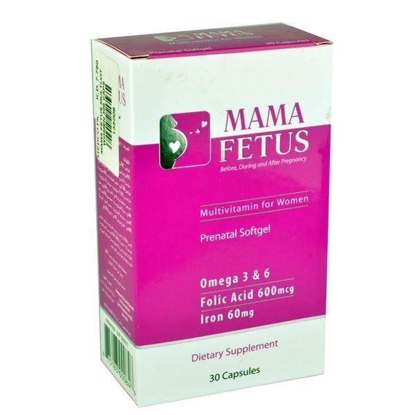 MAMA FETUS 30 capsules