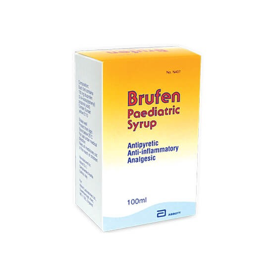 Brufen Paediatric Syrup 100ml