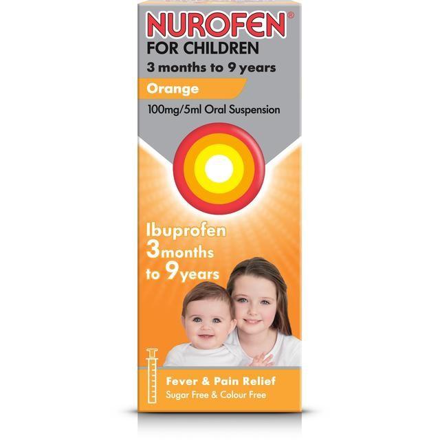 Nurofen oral suspension 100ml