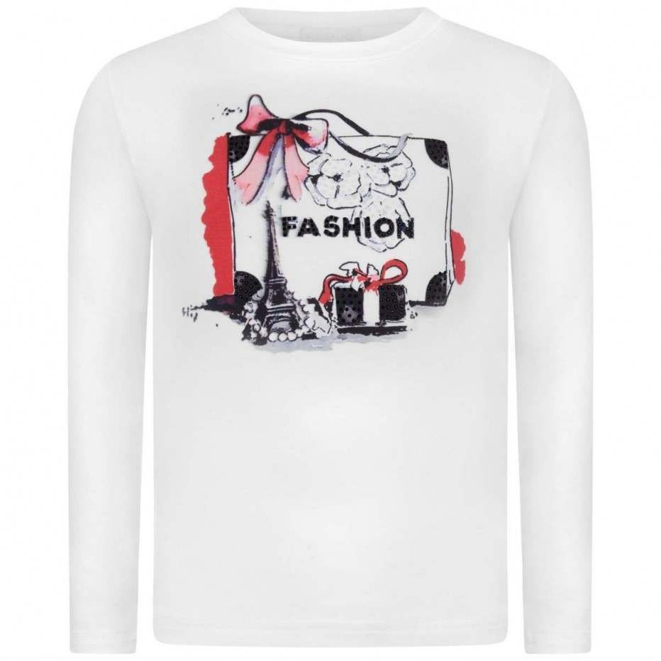 Fun & Fun White Fashion Top