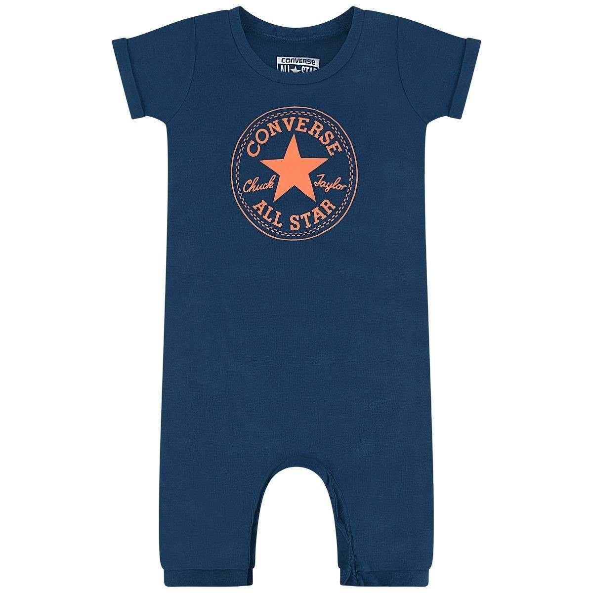 Converse Baby Boys Navy All Star Romper