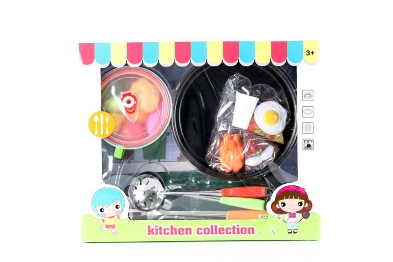 ادوات طبخ مع الاكل الصناعي