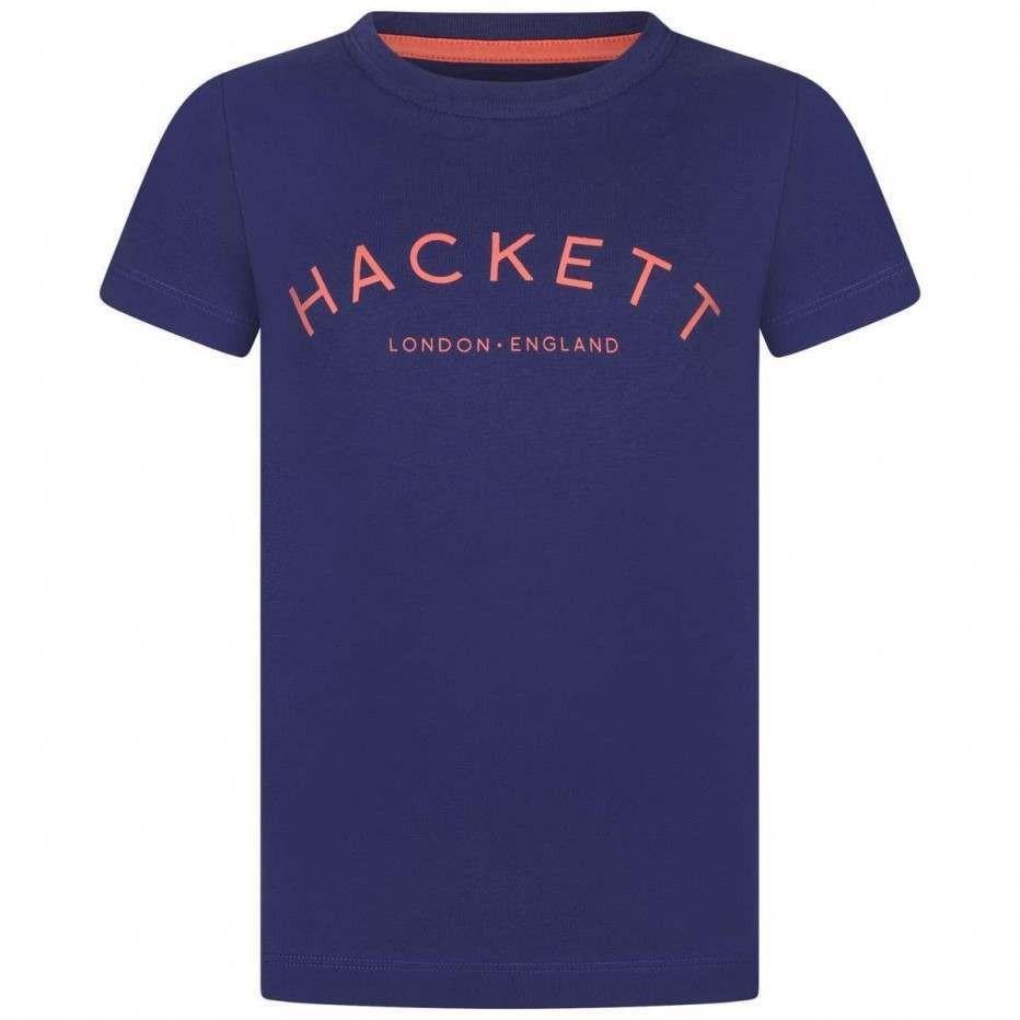 Hackett Boys Blue Cotton Top