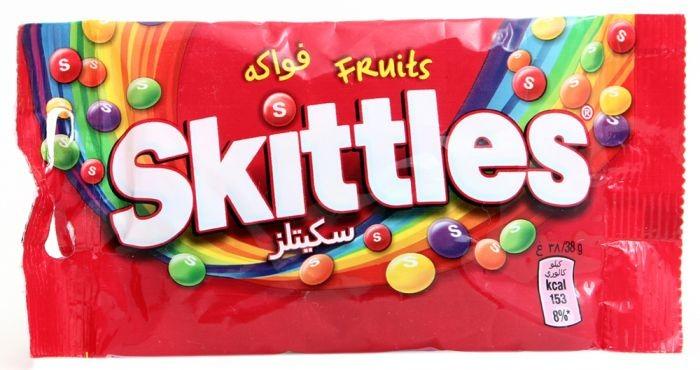 سكيتلز حلوى الفواكه