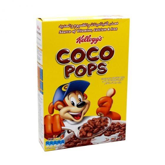 كلوغز كوكو بوبس حبوب افطار مع حافضة أقلام مجانية