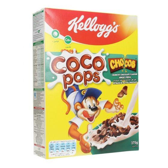 كلوقز كوكو بوبس حبوب القمح للإفطار بالشوكولاتة