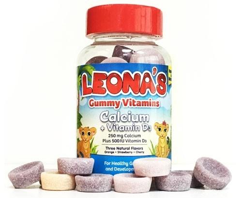 LEONAS GUMMY CALCIUM+VITAMIN D3 30GUM