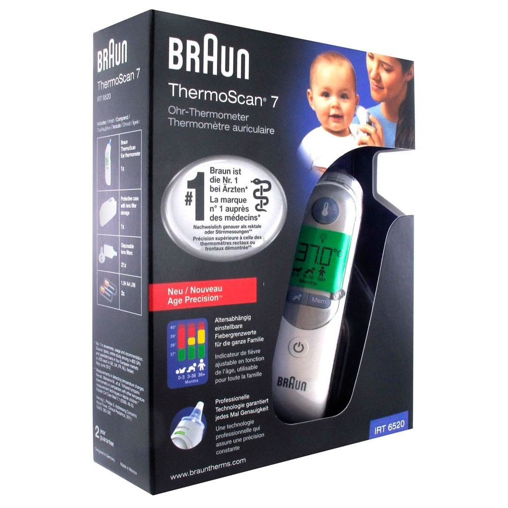 BRAUN THERMOSCAN IRT 4520-6520