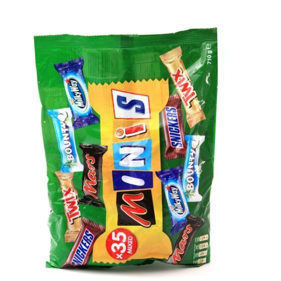 مارس كيس شوكولاتة صغيرة منوعة 710غ
