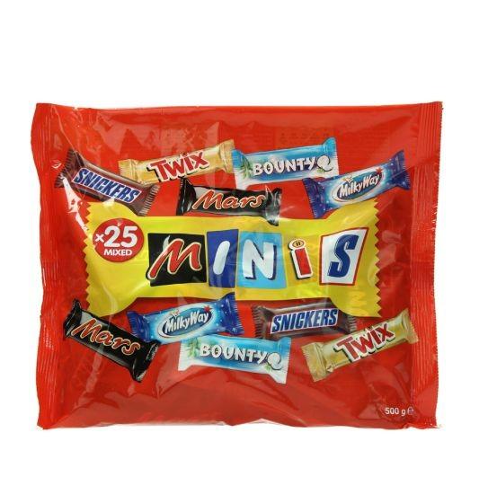 MARS MIXED MINIS BAG