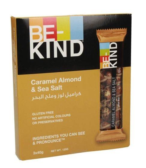 Be Kind Caramel Almond & Sea Salt Snack 120g