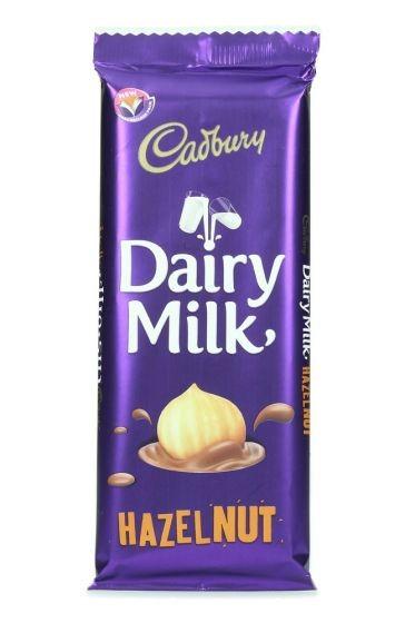 Cadbury Dairy Milk Hazelnut Milk Chocolate 90G
