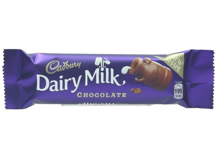Cadbury Dairy Milk Chocolate Milk Chocolate 37G