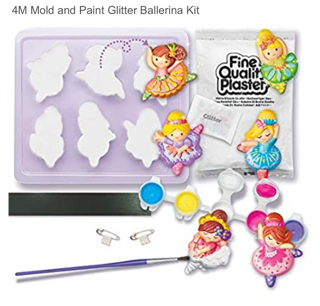 Mould and paint glitter ( ballerina