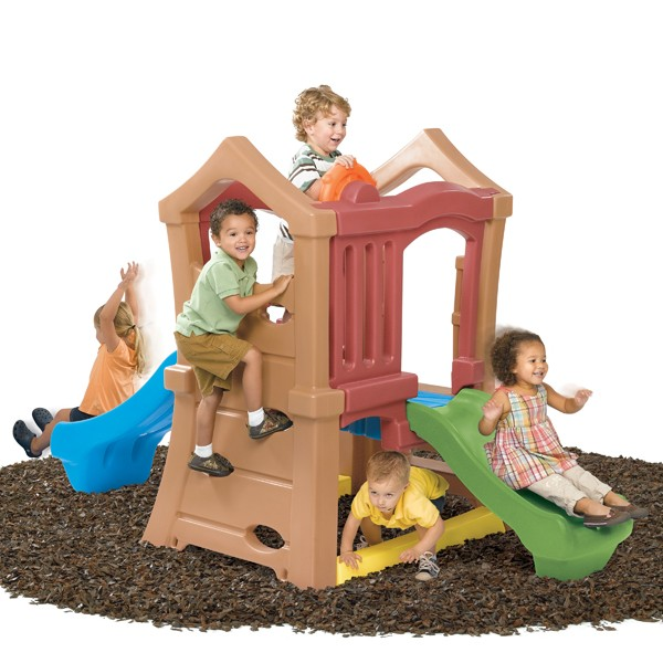PLAY UP DOUBLE SLIDE CLIMBER-800000-