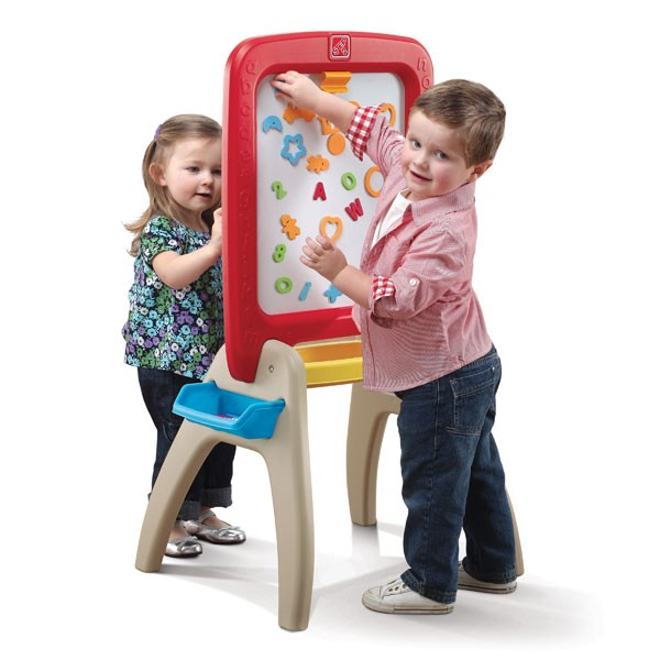 ALL AROUND EASEL FOR TWO(RED)------826800