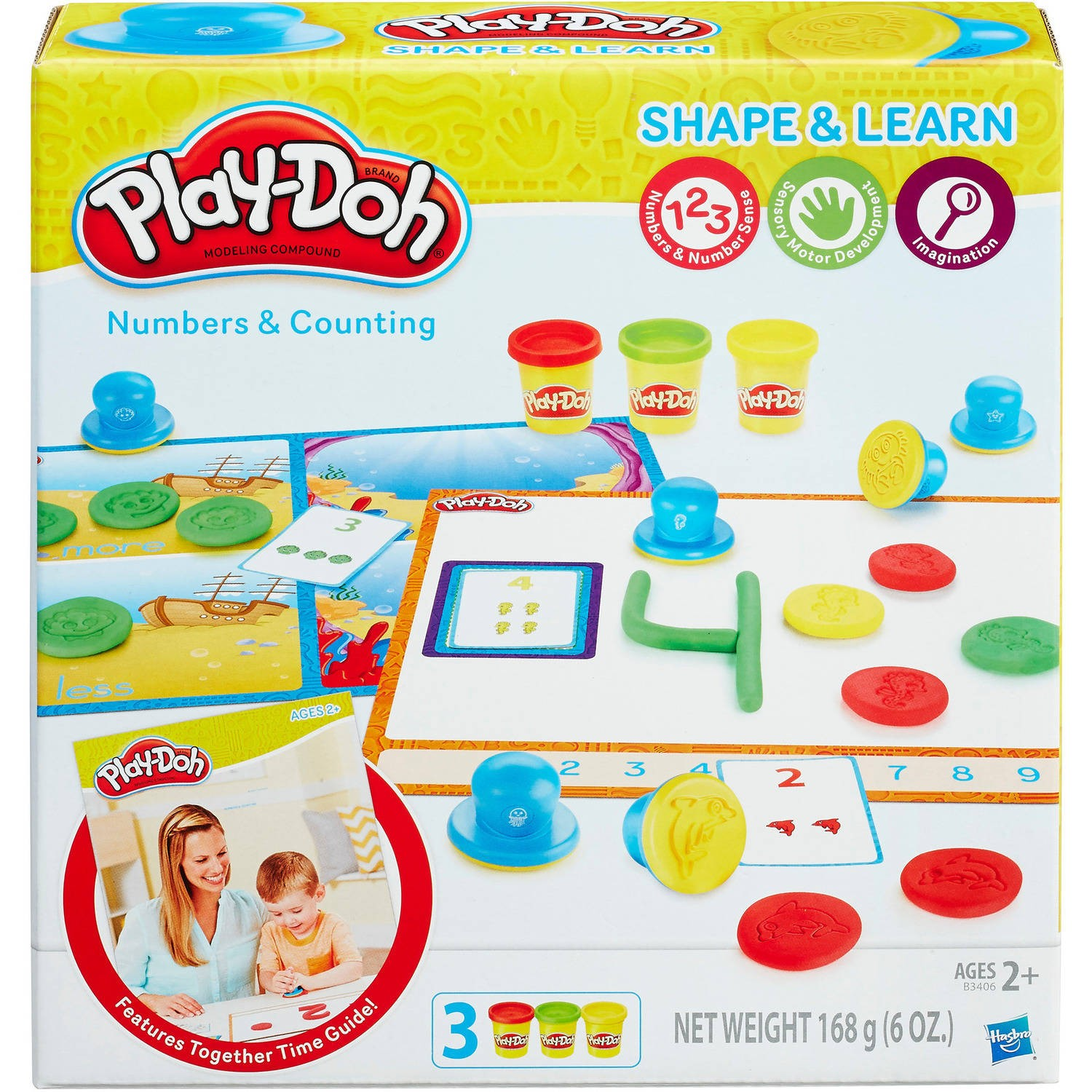 Playdoh Number and Counting