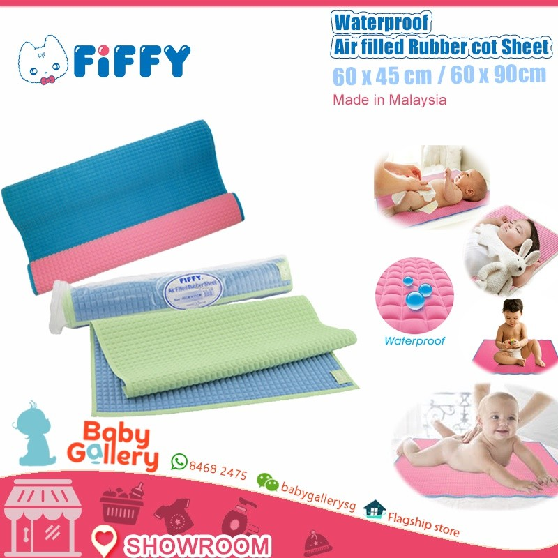 eten baby air bubble rubber cot sheet