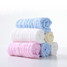 eten baby pack of 6 face towels