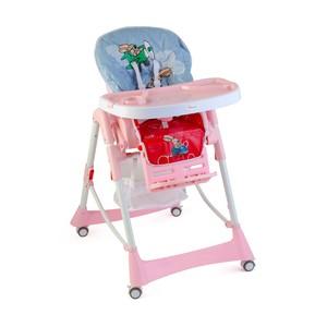 First Step Baby High Chair Hc-21 Pink