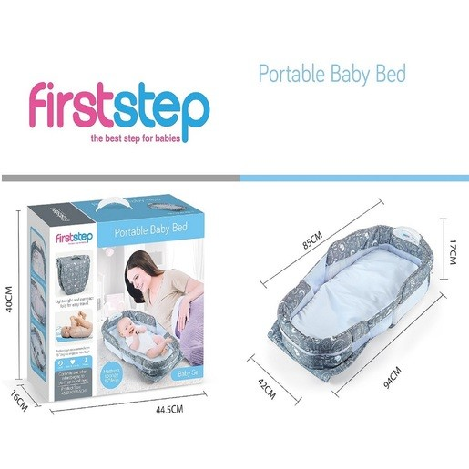 first step portable baby bed
