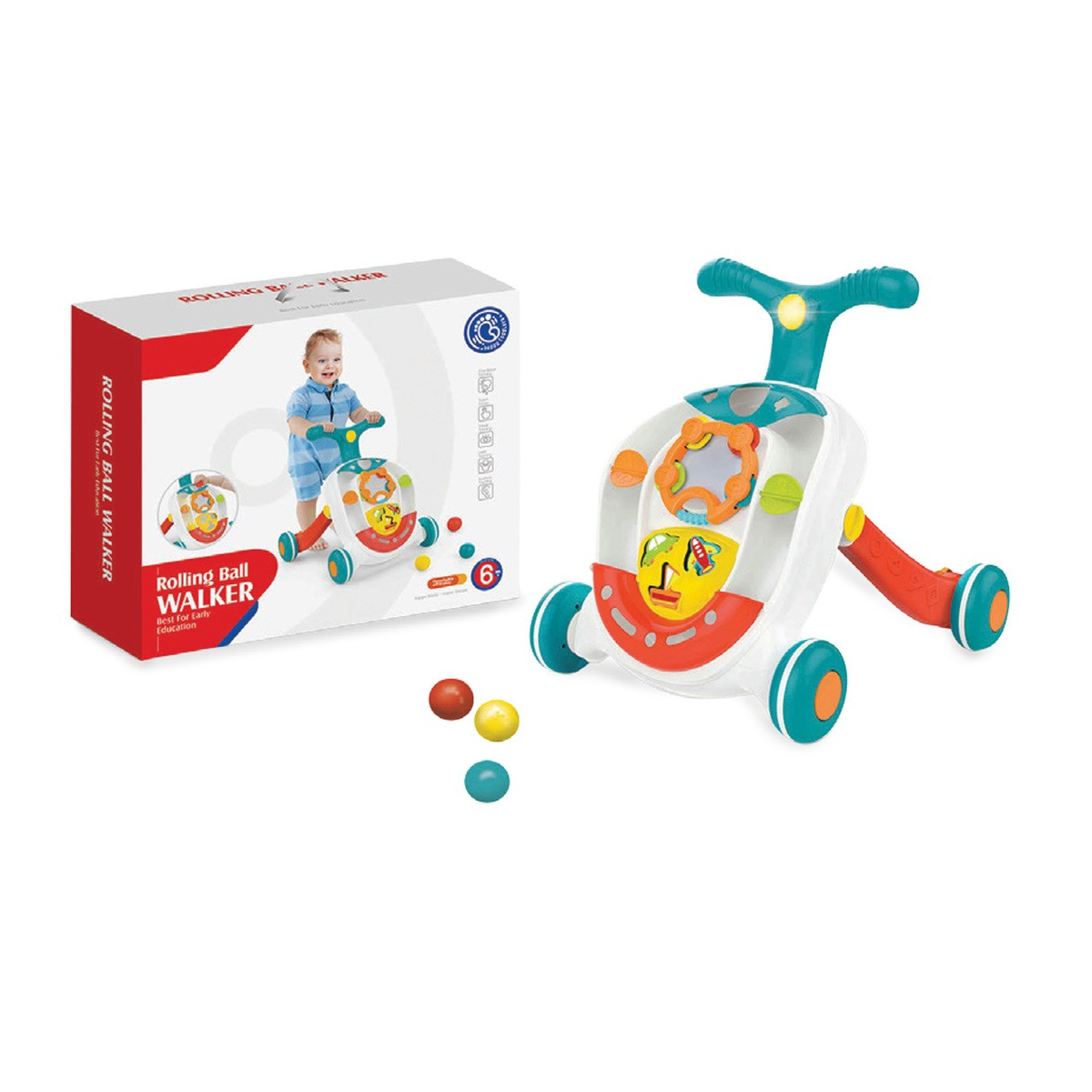 First Step Baby Activity Walker1