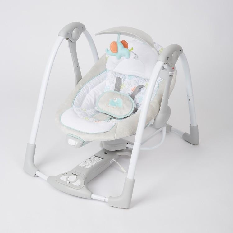 Bright Starts PowerAdapt Convertme Swing-2-Seat Portable Swing