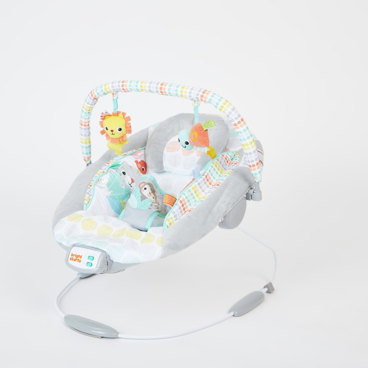 Bright Starts Cradling Bouncer with Toy Bar