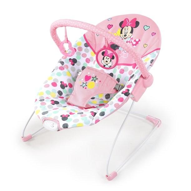 Bright Starts Minnie Mouse Spotty Dotty Vibrating Bouncer